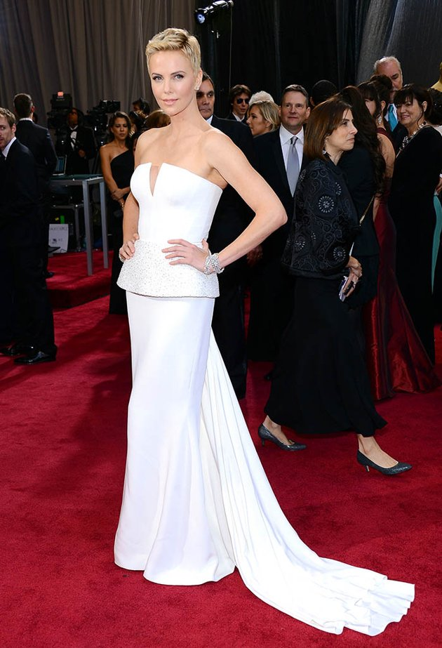 Charlize Theron in Dior Couture