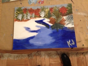 Kay's painting