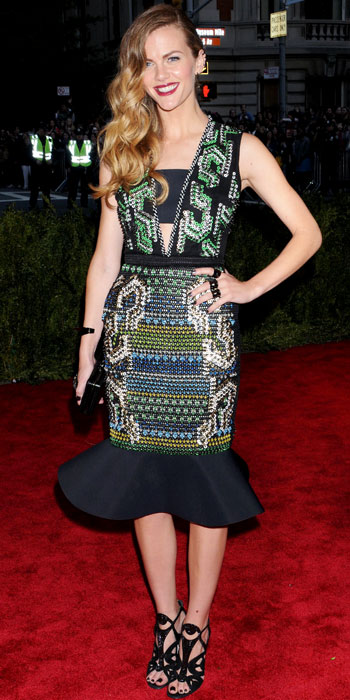 Brooklyn Decker in Peter Pilotto